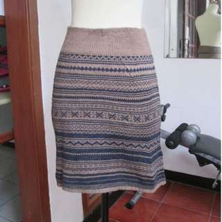 Skirt Knit tribal