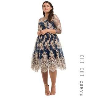 Chi Chi Curve Effie Dress (Size 16-18)