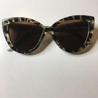 Asos Cat Eye Shell Sunglasses