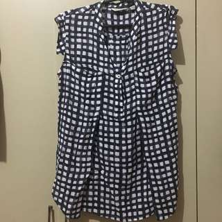 Checkered maternity/empire cut ALL ITEMS MARKED * FOR 30 PESOS. 5 OR MORE 25 PESOS