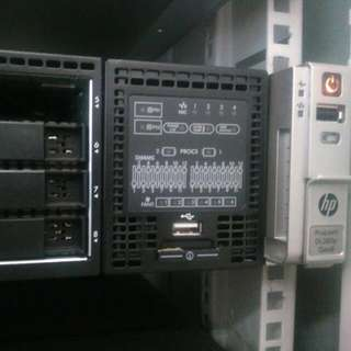 Server Rack HPE 2u Proliant Dl380p Gen8 Dan Dl180
