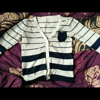 Sweater Strippes Navy