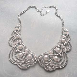 Pearl Peter Pan Necklace