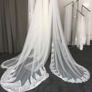 custom wedding veils made to suit your wedding from $50
