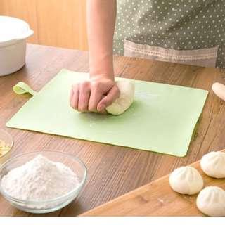 烘焙墊 搓麵粉 食物處理 可捲烘焙墊 硅膠防滑揉麵墊 擀面墊 防滑不粘 烘焙工具 廚房用品