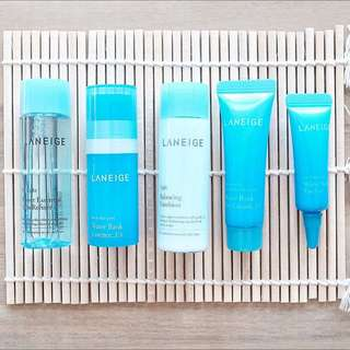 🆕LANEIGE Skincare 5 Pieces Set [Travel Size]