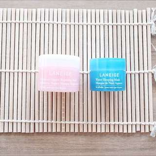 🆕LANEIGE Masks - Set Of Two [Travel Size]