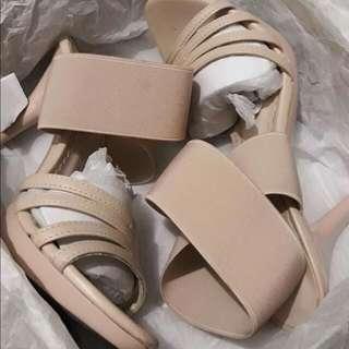 Gibi Nude Sandals