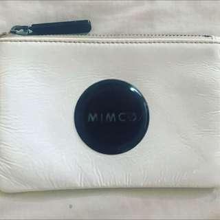 Mimco Small Pouch White
