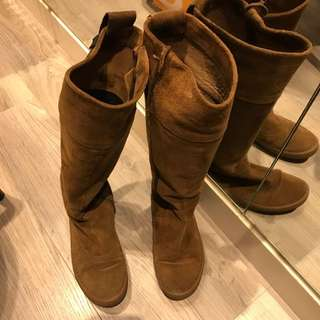 Camper Brown Boots Size 37