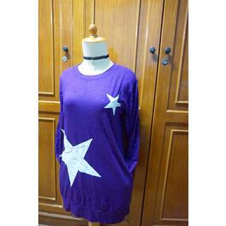 Long Top Purple Star