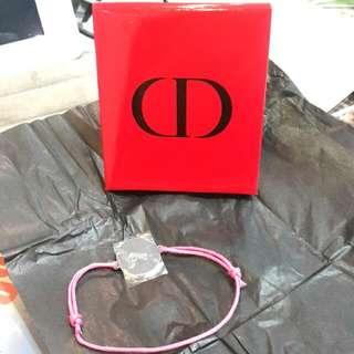 全新Dior專櫃贈品可調式手鏈