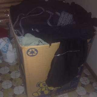 BIG BOX OF CLOTHES