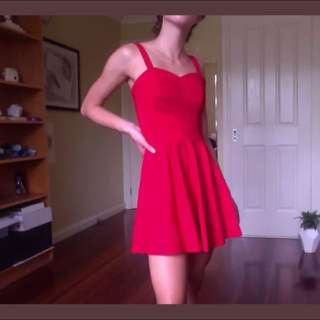 NEW Asos Petite Red Cocktail Dress