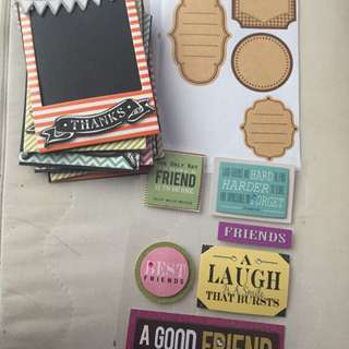 Stickers And Photo Frame
