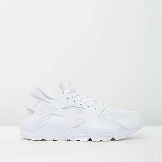 Nike all white huaraches