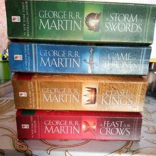 Super Sale Game Of Thrones Book 1-4
