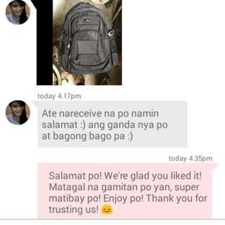 PROOF OF TRANSACTION! 💕