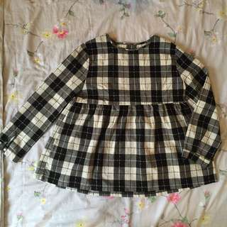 Checkered Top / Doll Top