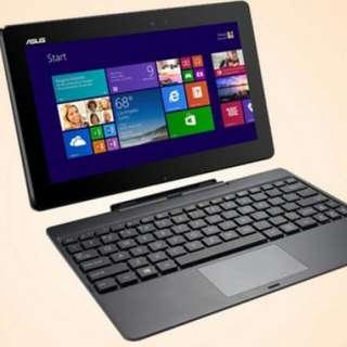 Asus Transformer Book T100 - Windows Hybrid Tablet