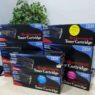 IBM Original Laser Toner Cartridges For Hewlett Packard HP Printers 40% Off