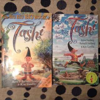 Two Big Tashi Books