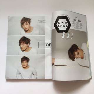 Exo Kai Vivi Magazine (Limited Edition) #FREEPOSTAGE