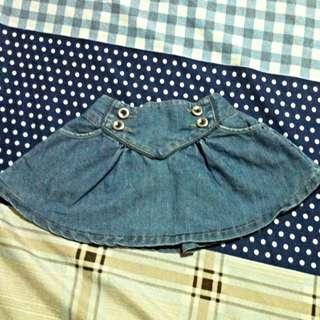 Monsoon Maong Skirt