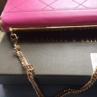 Chain Clutch Wallet Charles & Keith
