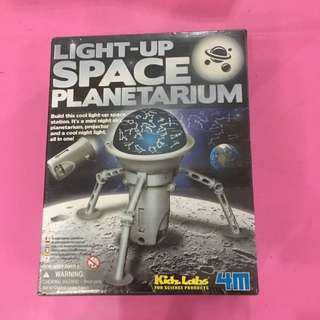 4M Kidz Labs Light-up Space Planetarium