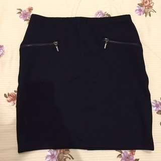 Stradivarius Black Skirt