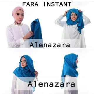Hijab Instant Alenazara (Fara Instant)