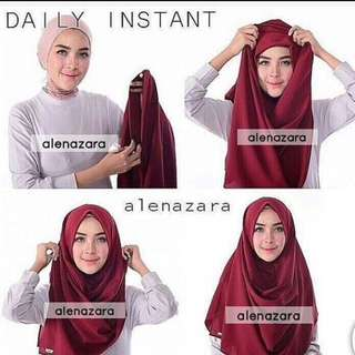 Hijab Instant - Daily Instant Motif