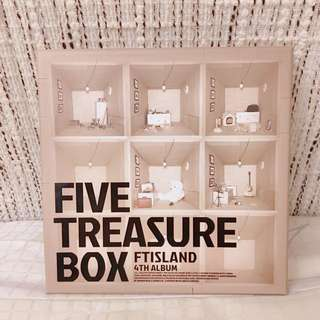 FTISLAND FIVE TREASURE BOX