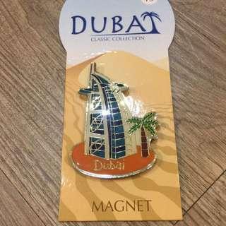 杜拜帆船飯店磁鐵