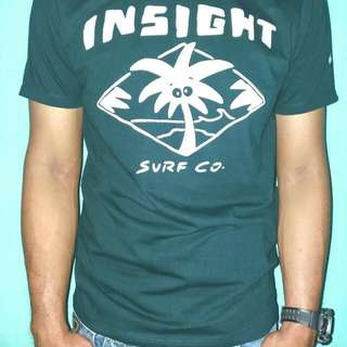 insight baju kaos pendek oblong pendek unisex surfing distro