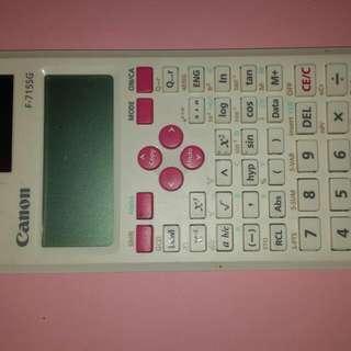 Preloved Canon Calculator