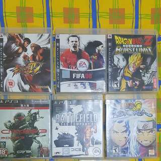 Pre-loved Playstation 3 Games