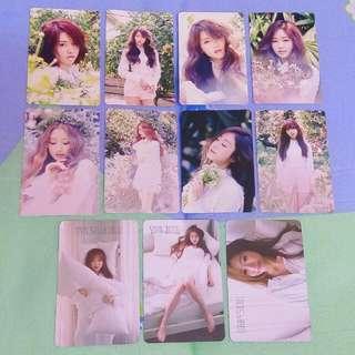 Lovelyz Official Photocard (A New Trilogy Lovelyz8)