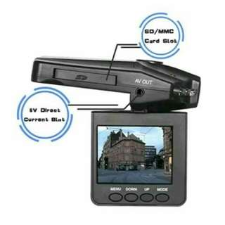 2.5 inch TFT LCD HD Car DVR with 6 LED Lights Road Dash Video Camera