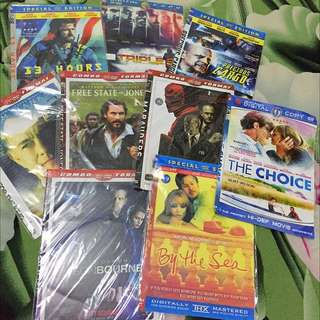 CD Movie take all (9pcs)