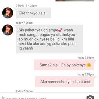 Testimonial From A Satisfied Customer 😘😘