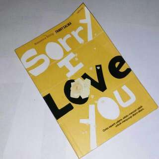 "Novel ""SORRY I LOVE YOU"" karya Fanny Salma"