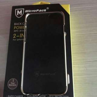 Micropack Back Case & Power Bank 2 In 1 For Iphone 6