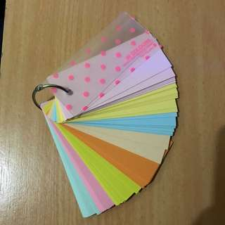 Mini Binded Notepad