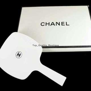 香奈兒白色塑膠鏡子