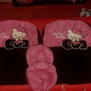 hello  kitty car seat cover... for sale for only 1,500