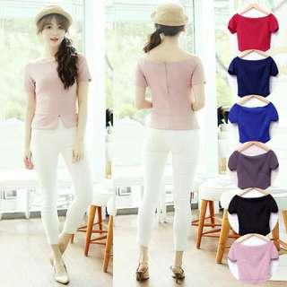Baju Atasan Wanita Murah/Atasan Korea Import - Wilona Top