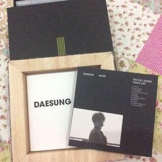 [UNSEALED] BIG BANG MADE FULL ALBUM NORMAL VER (Daesung Ver.)