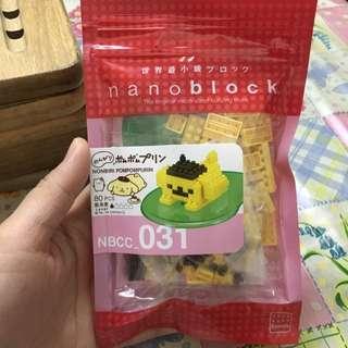 布甸狗 Nanoblock Sanrio